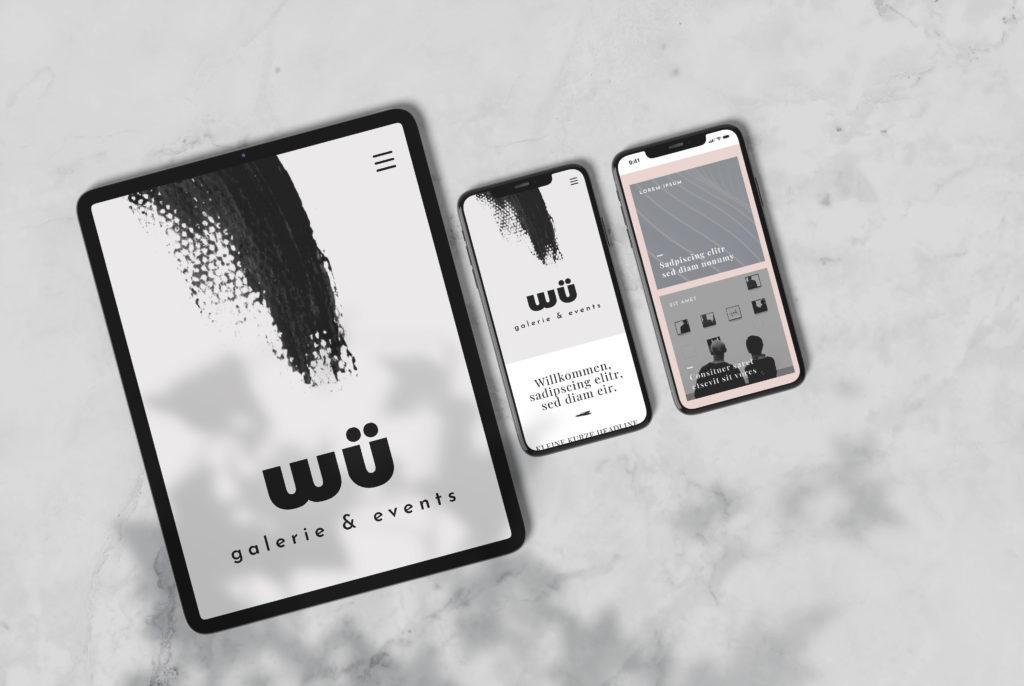 Website wü Galerie