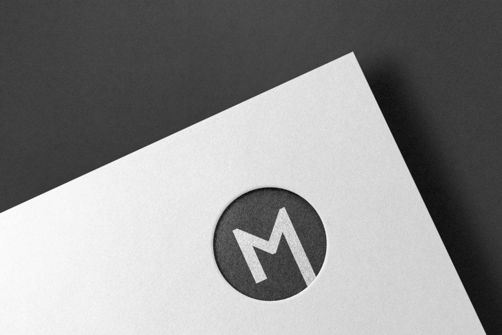 Detail Logo M Karte