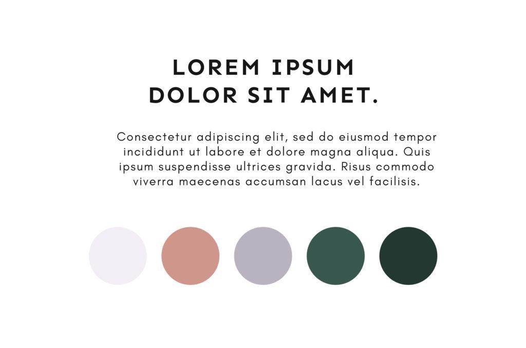 Farben Typo Moneyfaktur